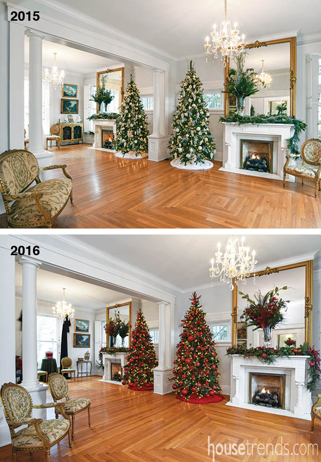 Christmas decorations over the years