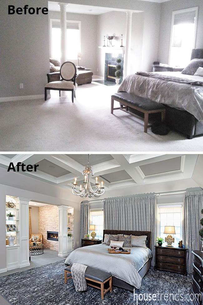 Master bedroom gets a facelift