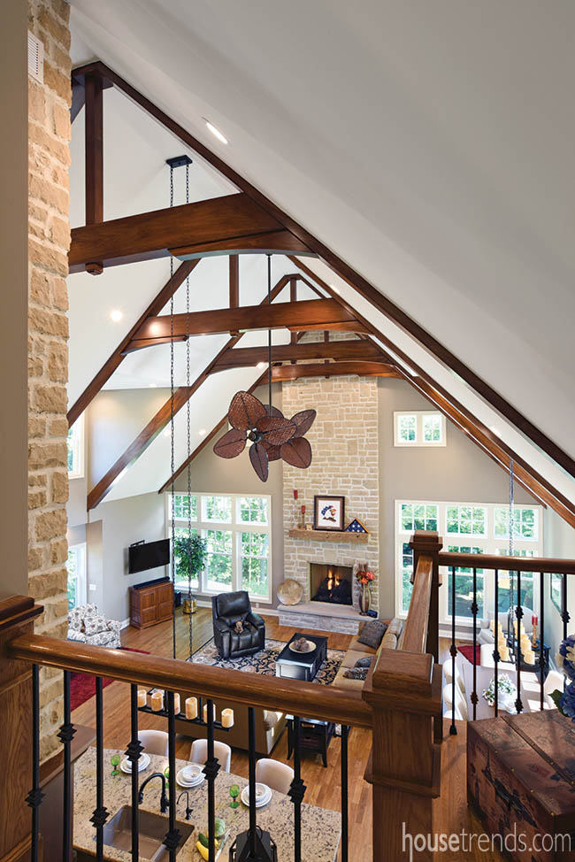 Loft with an expansive view