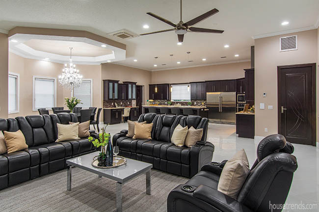 Open floor plan perfect for entertaining