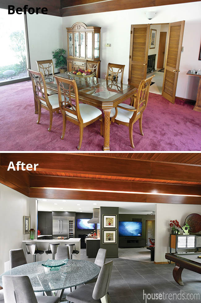 Remodeling ideas include opening up a home