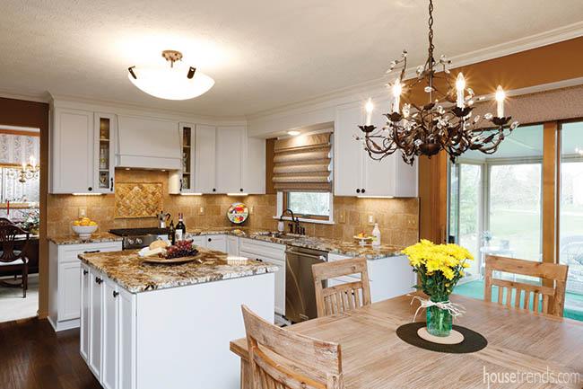 Kitchen remodel transforms a space