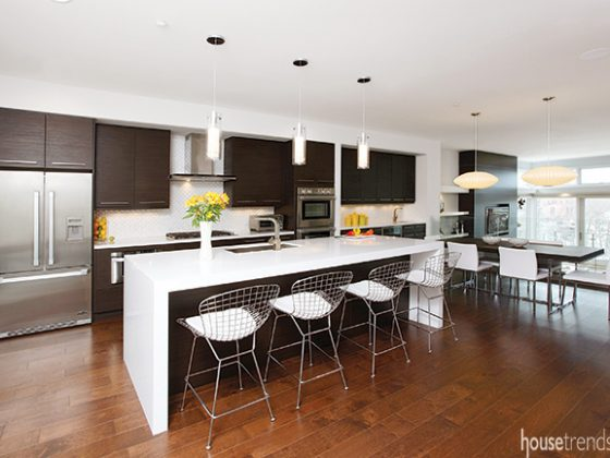 Thinking big with kitchen design ideas