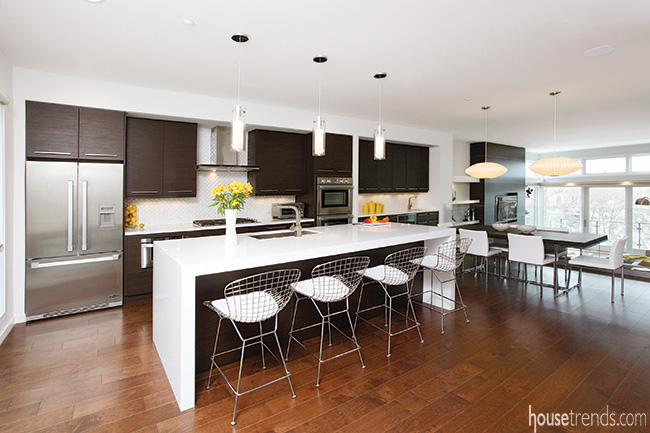 Thinking big with kitchen design ideas