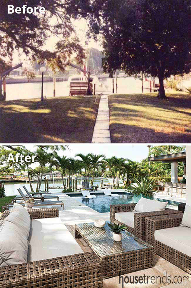 Outdoor living space gets an update