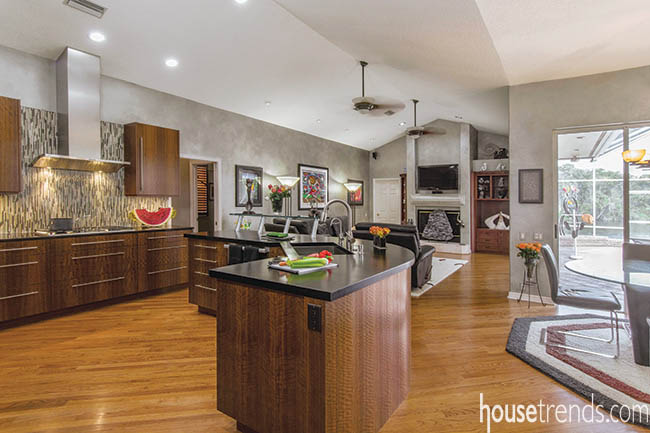 Kitchen remodel style favored by young homeowners