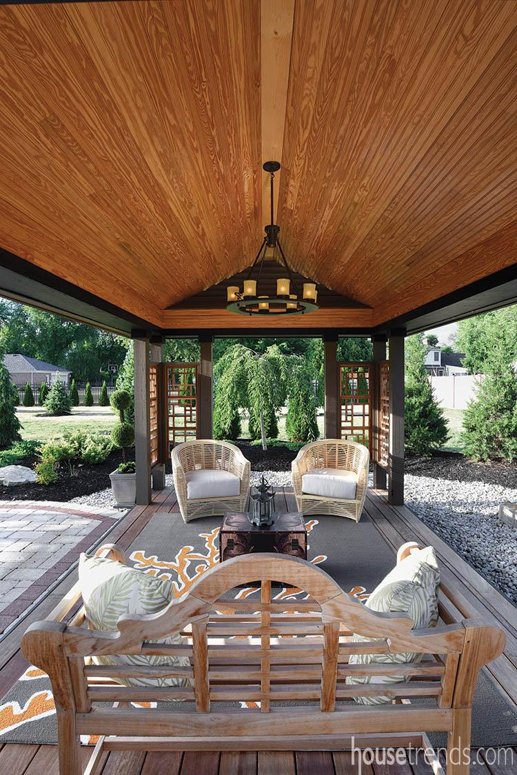 Pavilion doubles as a meditation space