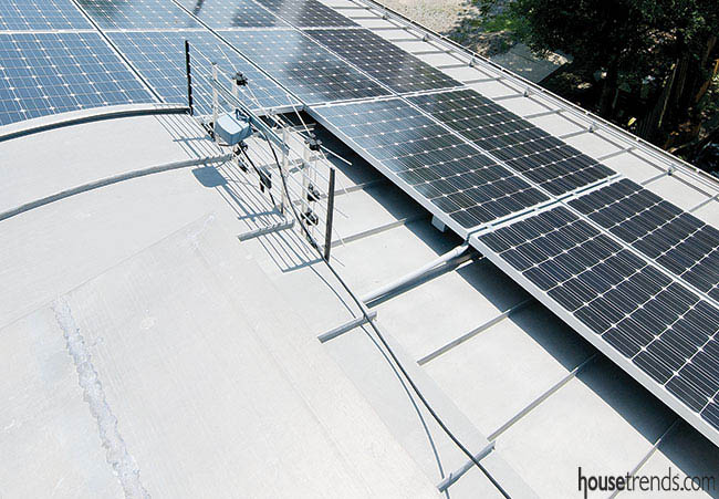 Solar panels help lower utility costs