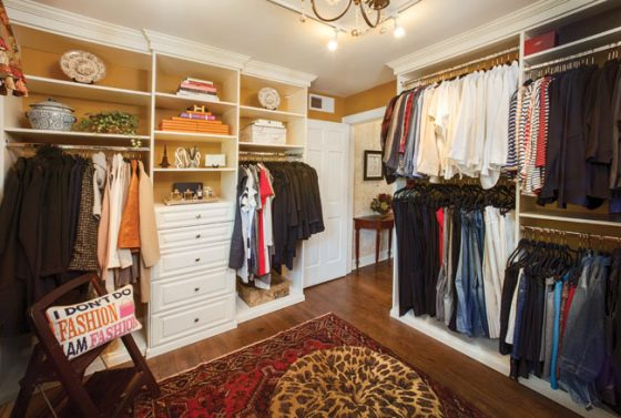 An interior designer works out of the box
