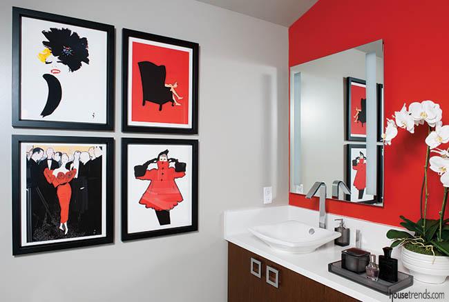 Kohler faucets add a hint of elegance