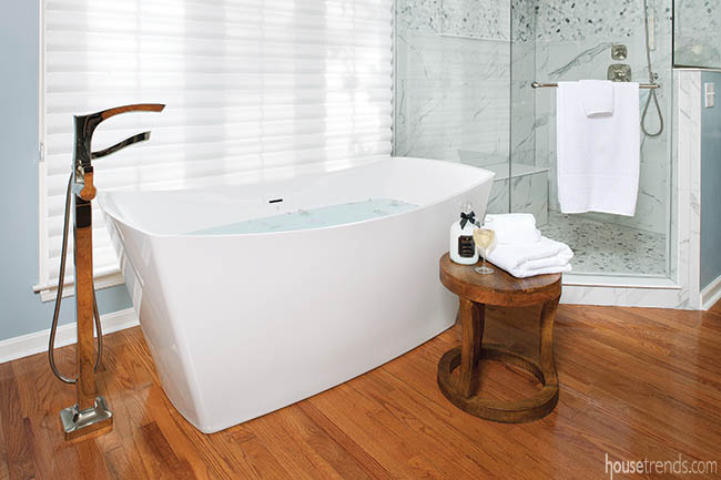 Bath tub extras are the ultimate in relaxation
