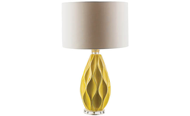 Table lamp available in multiple colors