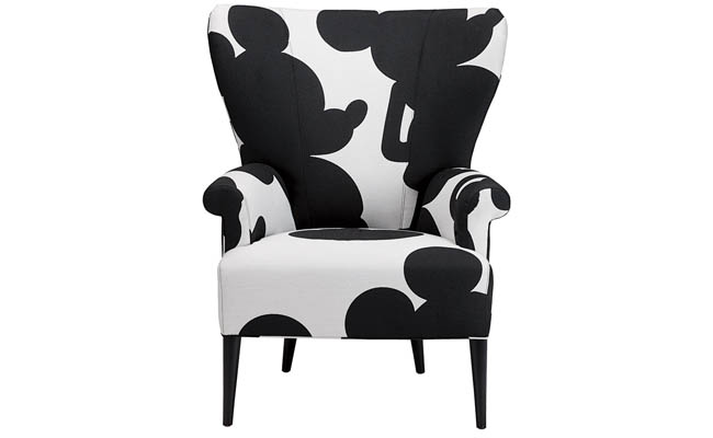 Fabric made exclusively for chair