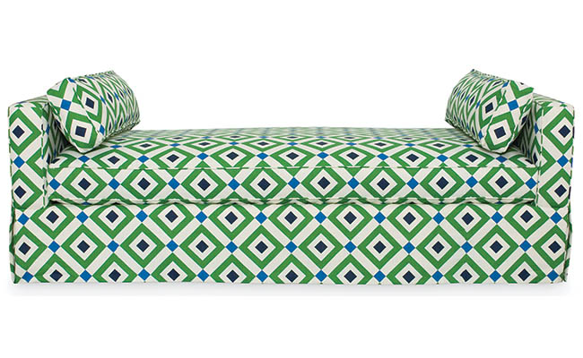 Daybed available in multiple fabrics