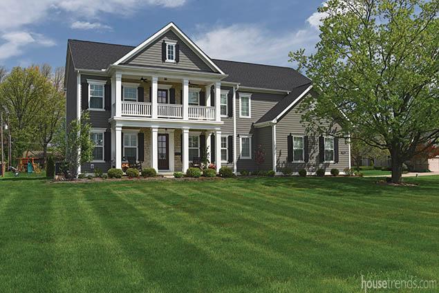 Shutters flatter a home design