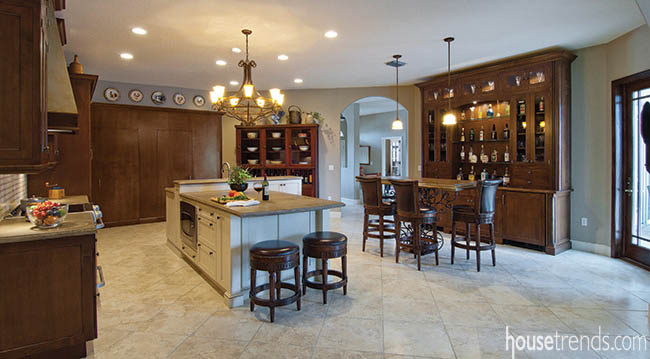 Remodeling ideas create a welcoming kitchen