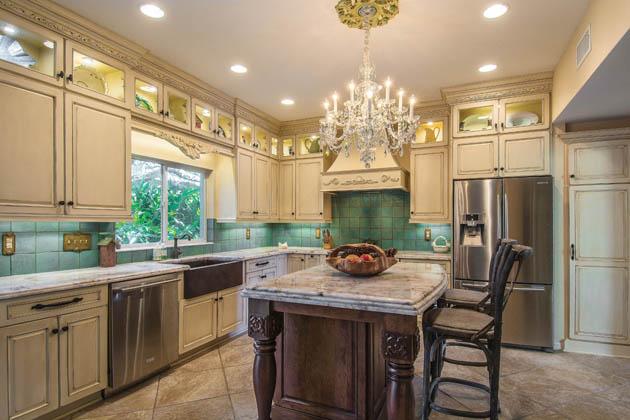 Kitchen cabinet ideas embrace a unique look