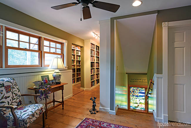 Books find home in second-floor library