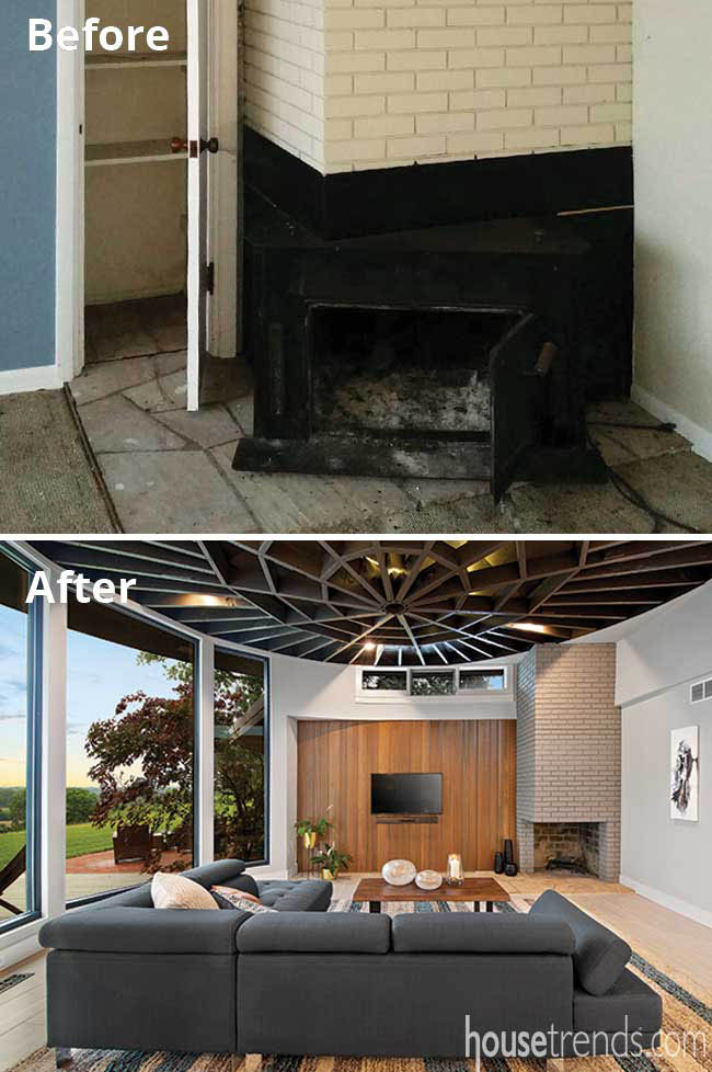 Hearth room gets a new look