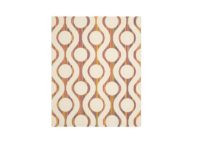 Area rugs represent the energy of a city