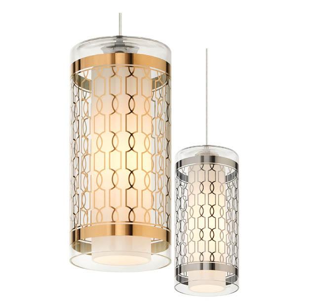 Pendant lighting gets a stylish pattern