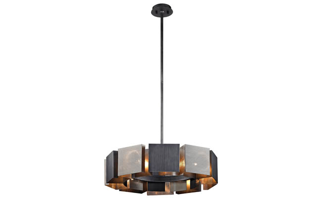 Pendant light with an industrial feel