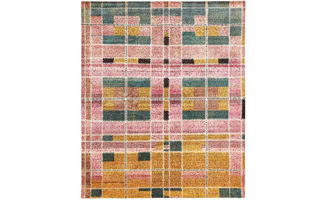 Rug inspired by the past
