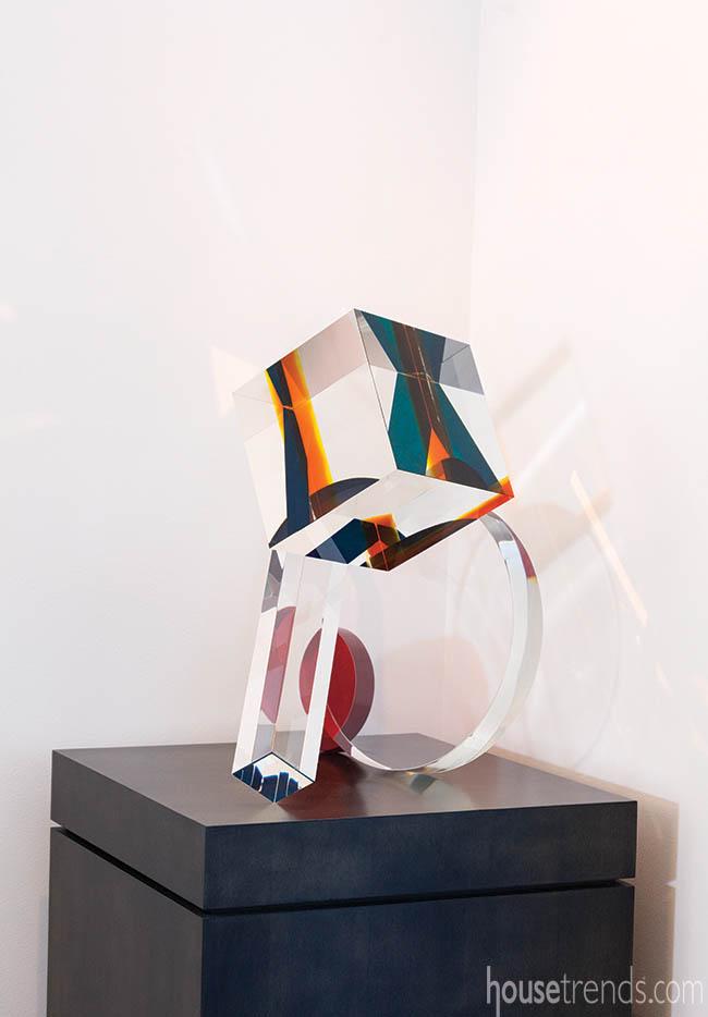 Pedestal built to display artwork