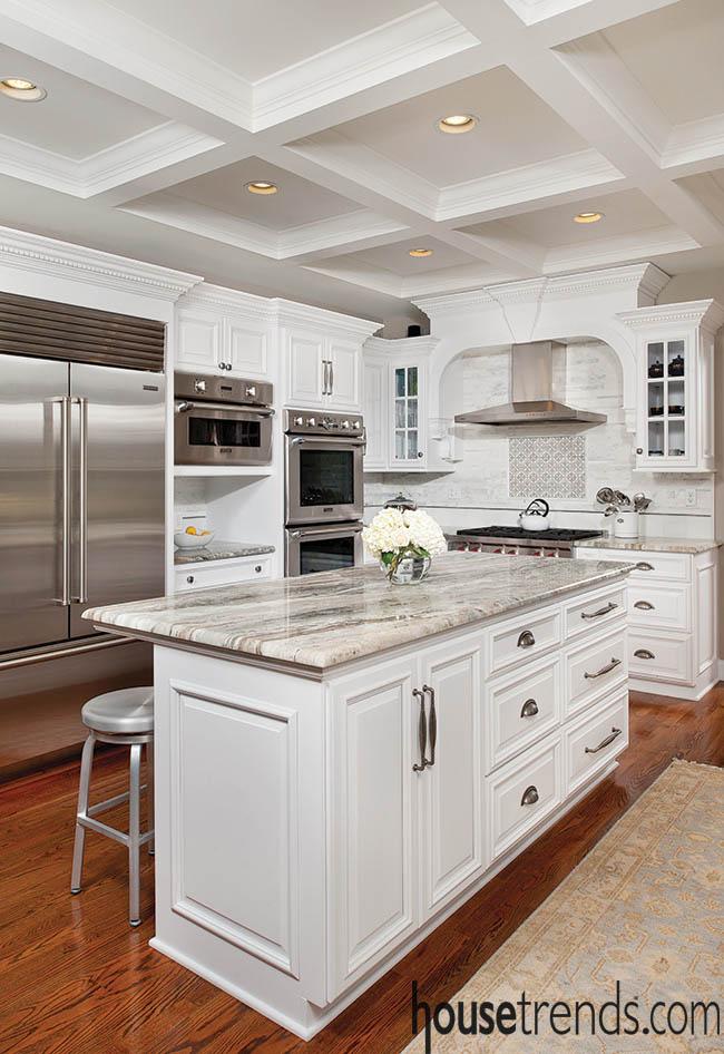 Granite tops custom cabinets