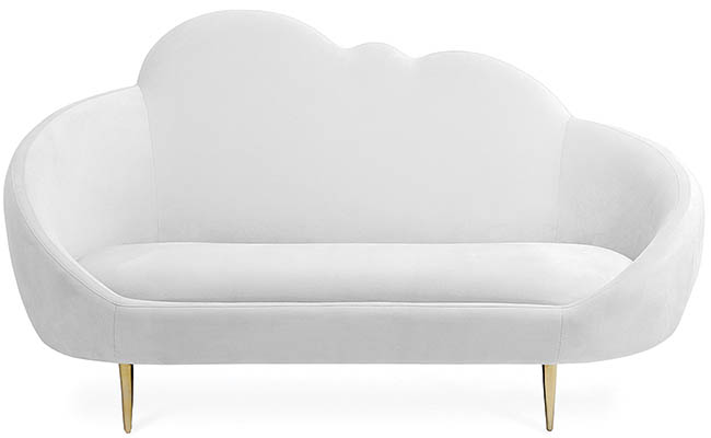 Setee designed with a cloud in mind