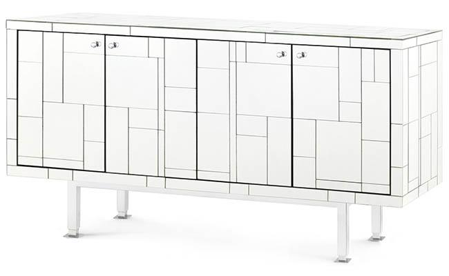 Mirror cabinet with plenty of storage space