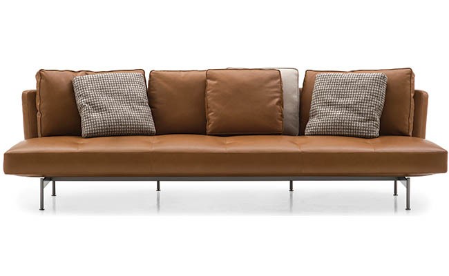 Sofa designed with floating in mind