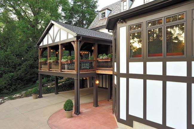 Deck design serves multiple purposes