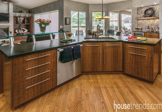 Kitchen appliances add a finishing touch