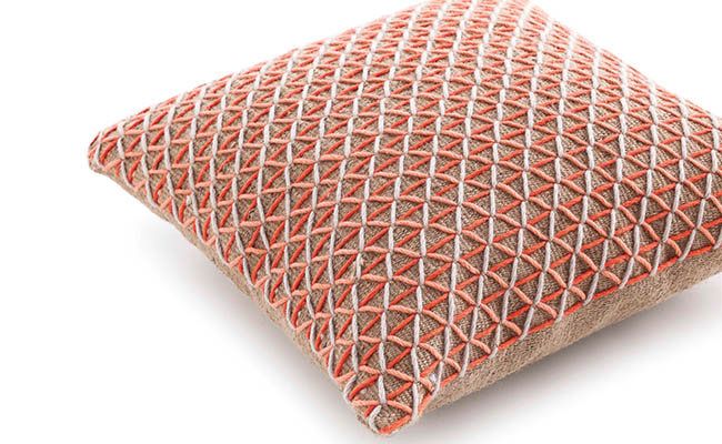 Cushion adds texture to any space