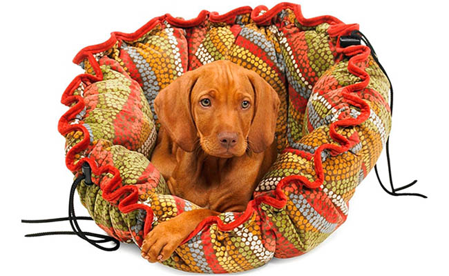Pet bed is perfect for the family pooch
