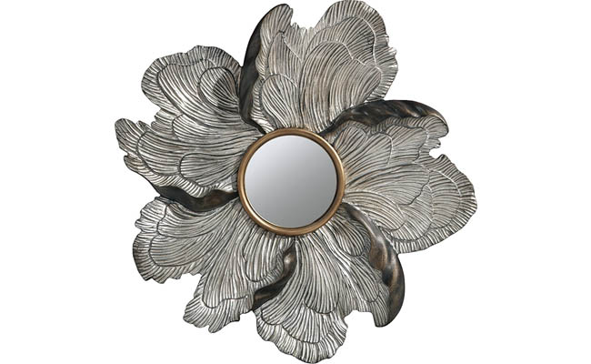 Mirror mimics a look found in nature