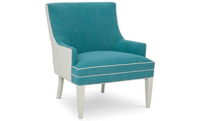 Chair adds fun color to a sitting area
