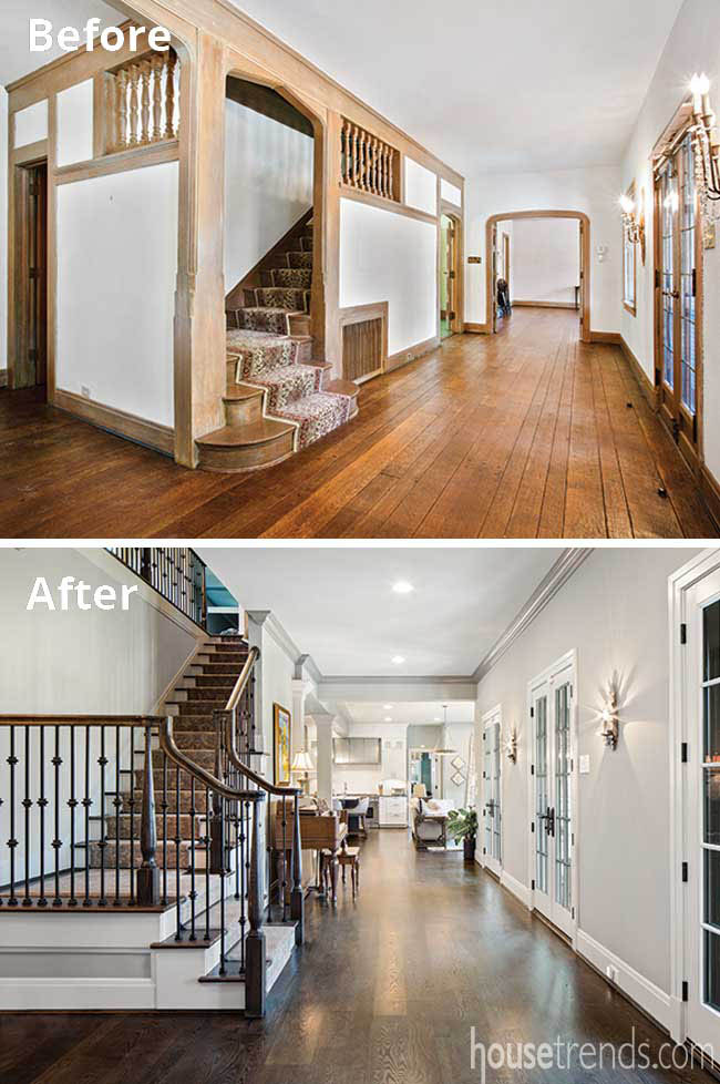 Remodeling ideas update a staircase