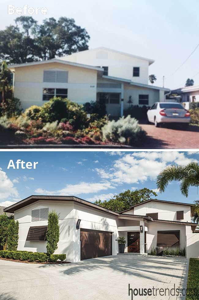 Remodel creates curb appeal