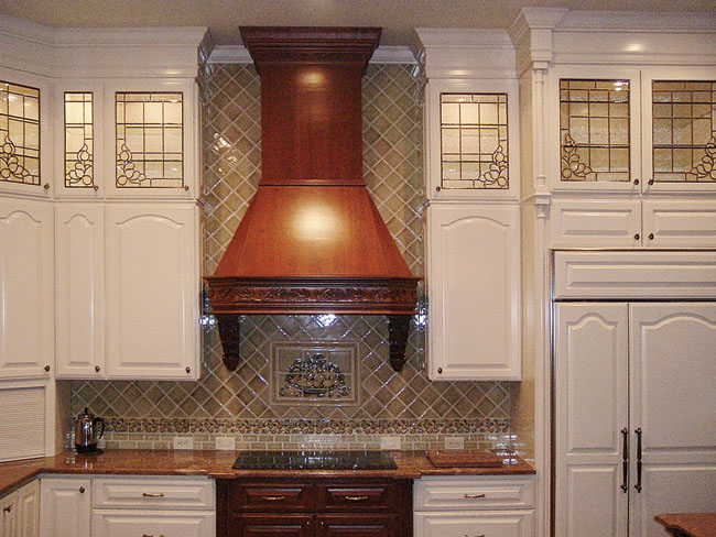 Kitchen cabinet ideas add unique design to a traditional space