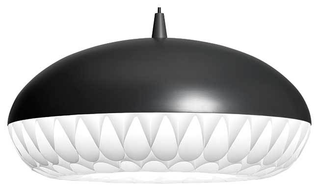 Pendant light available in two colors