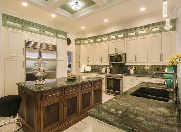 Kitchen backsplash ideas add fun color