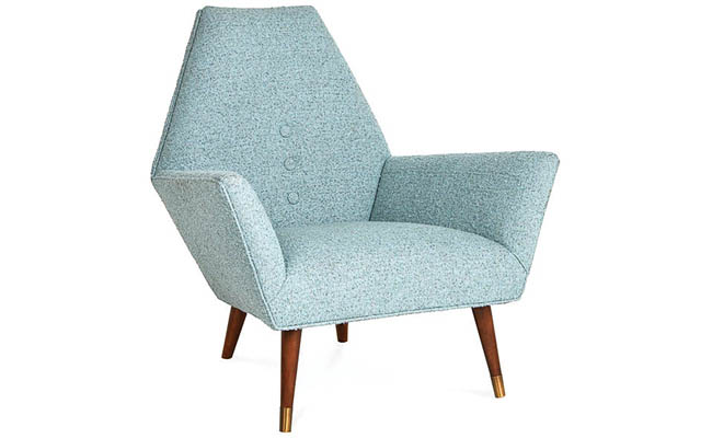 Cozy chair with mid-century Italian flair