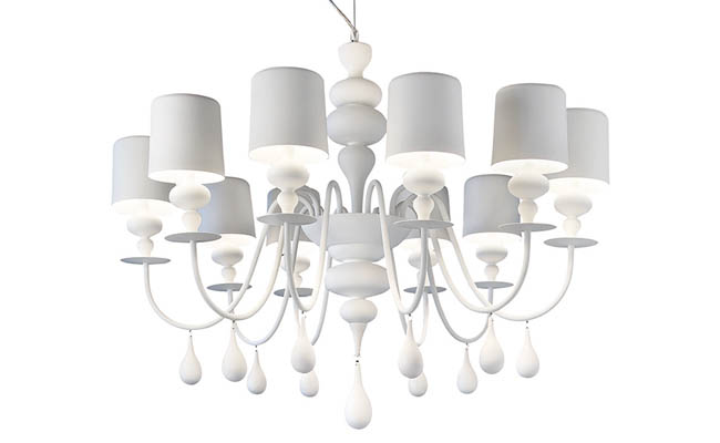 Chandelier with a contemporary elegance