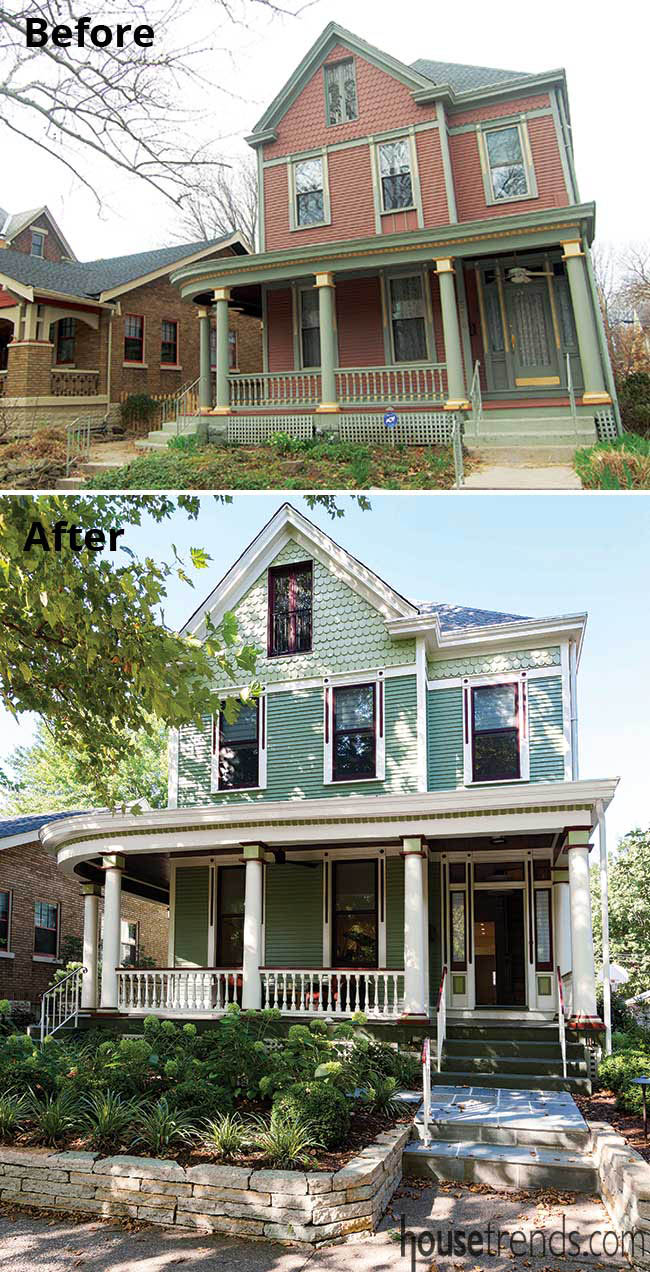 HIstoric home gets a new exterior