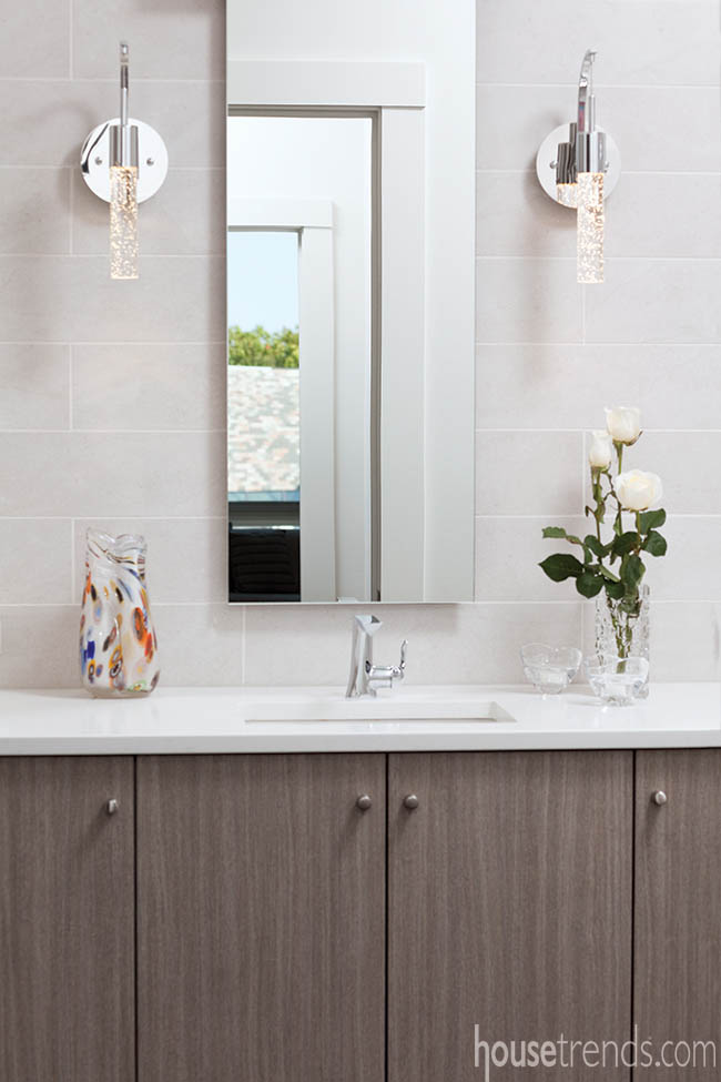 Bathroom hardware is all about simplicity