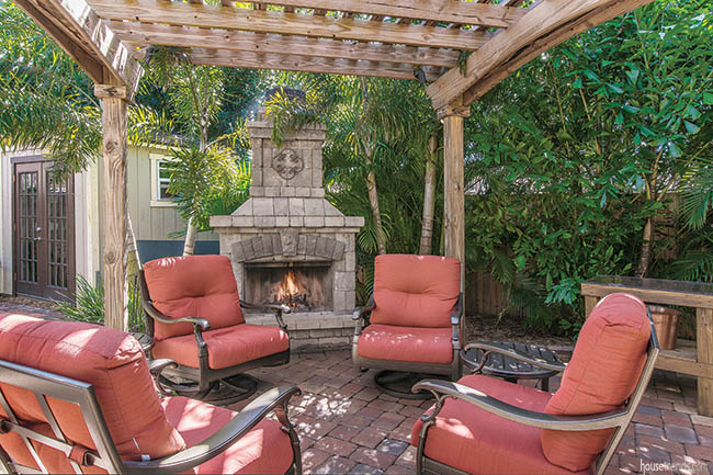 Pergola comes primed for outdoor entertaining