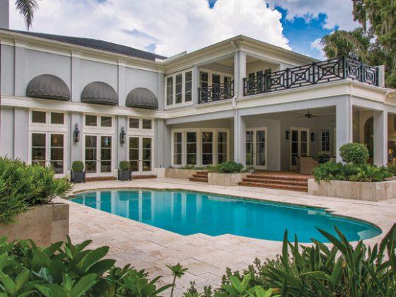 Inground pool worthy of a vacation villa