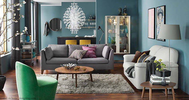 Living room design veering away from technology